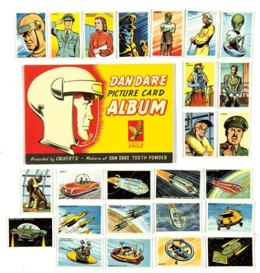 Dan Dare Picture Card Album (1953) Calvert's Tooth PowderWith all 25 cards unmounted