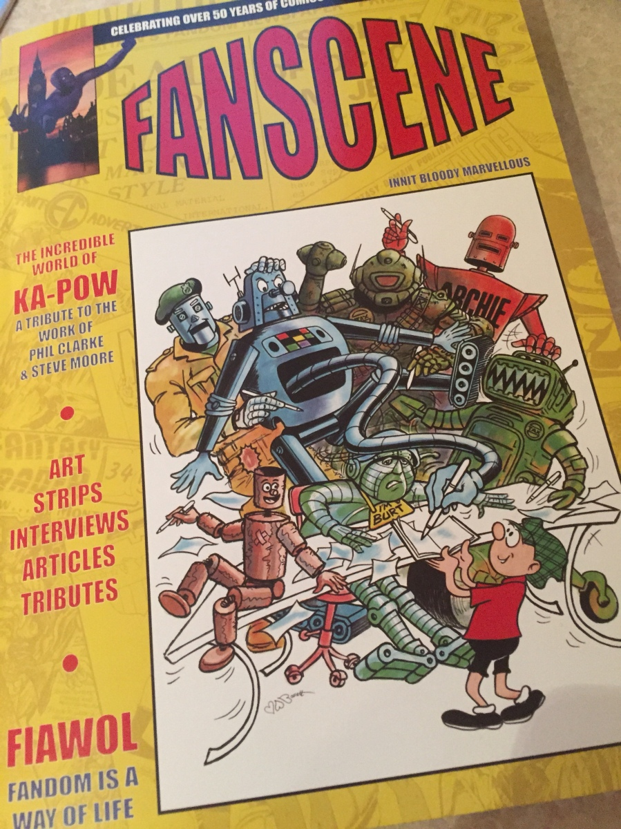 ComicsFlix publish limited edition 'FanScene' 328 page book