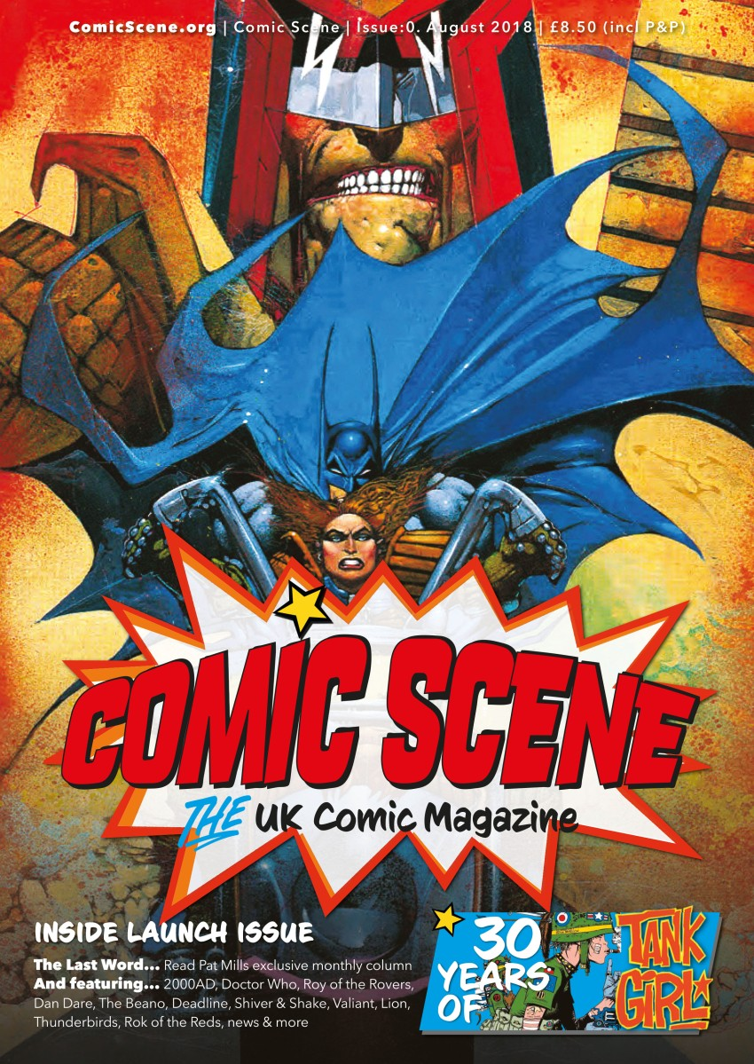 Get a free copy of ComicScene UK issue 0