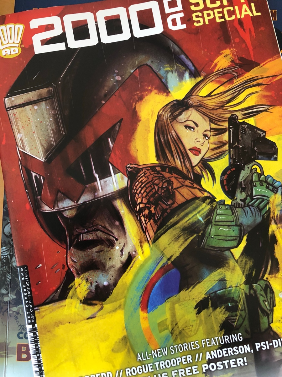 2000AD Sci-Fi Special ComicScene UK Review