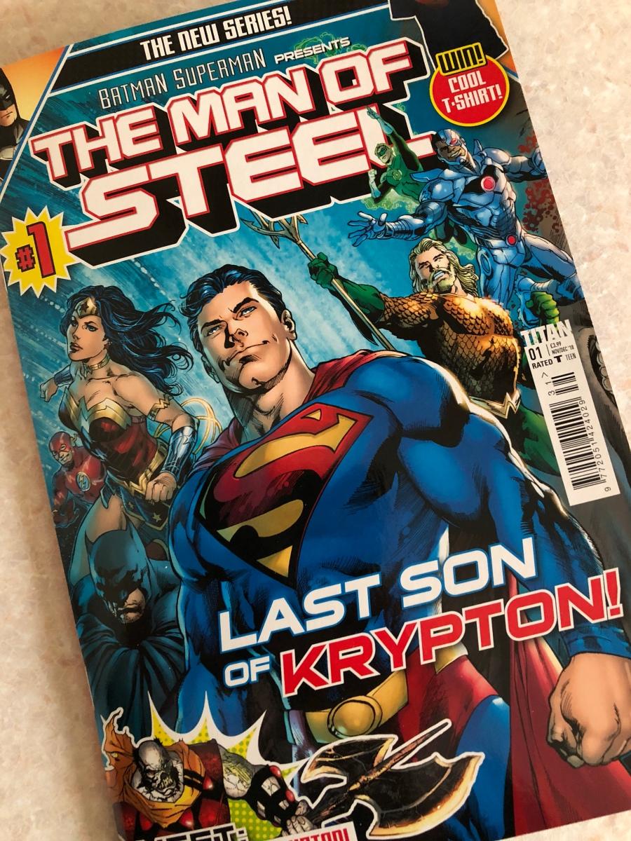 Titan release U.K. Man Of Steel