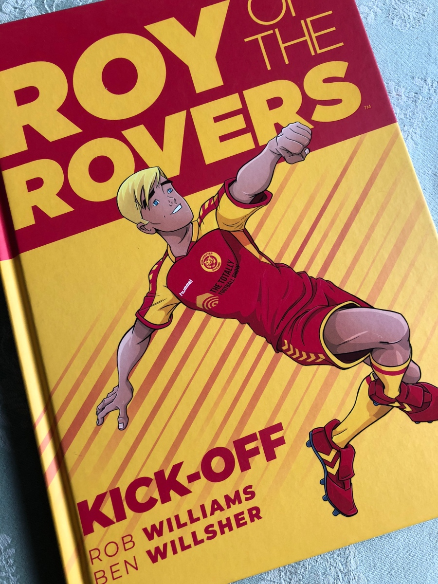 ComicScene UK Review: Roy of the Rovers Graphic Novel