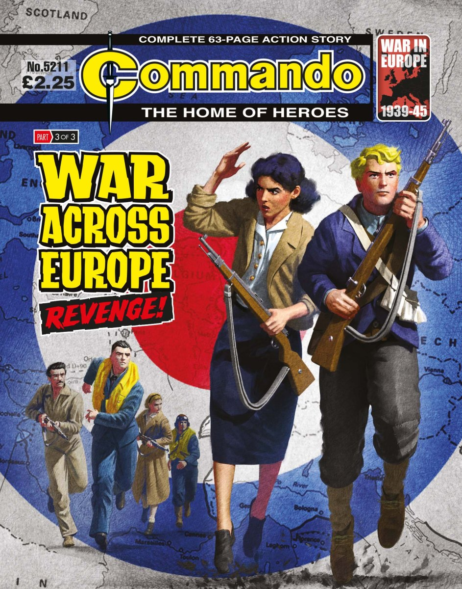 War Across Europe Trilogy comes to an end