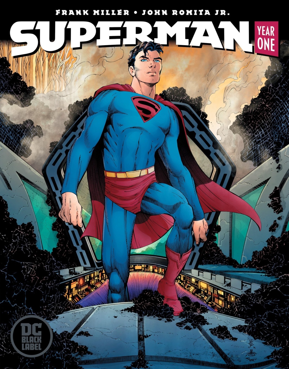 Superman Year One Covers revealed