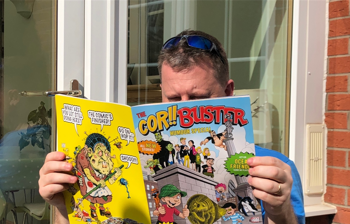 The ComicScene Cor!! Buster Reviewers