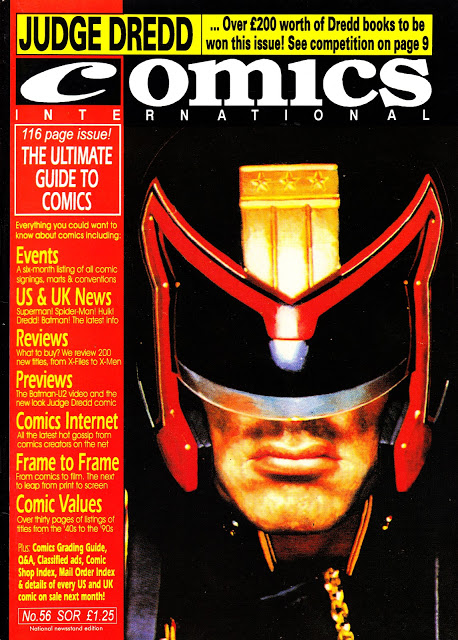 COMICS INTERNATIONAL 56 DREDD MAY95